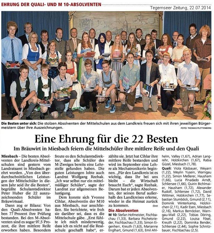 Teg.Zeitung,Bestenehrung,22.07.2014